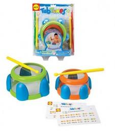 Музыкальная игрушка для ванной Плавающие барабаны