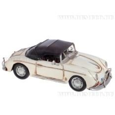 Ретро-автомобиль 1955 White porshe speedster