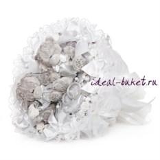 Букет из игрушек Серебряная свадьба