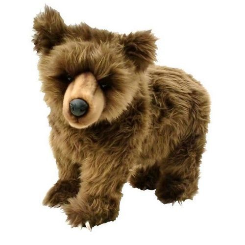Мягкая игрушка Детеныш японского бурого медведя от Hansa