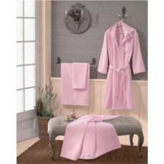 Элитный махровый халат Crociera rosato от Blumarine