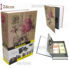 Книга-сейф с кодовым замком Rose (высота 24 см)