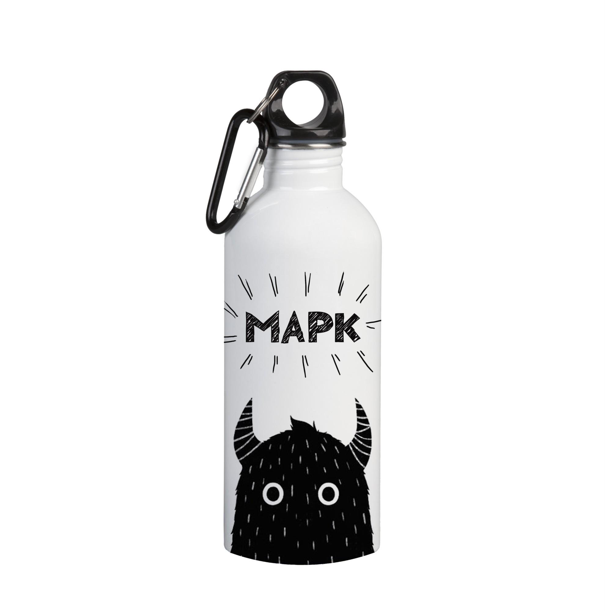 Именная бутылка для воды Марк