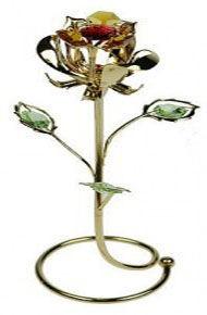 Фигурка Swarovski Роза в кольце