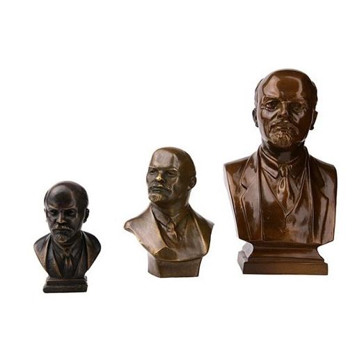 Бронзовый бюст «Ленин»
