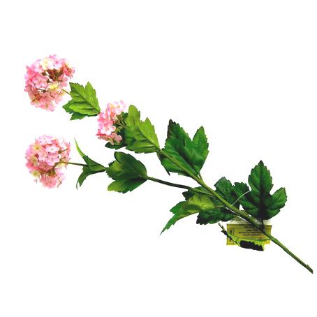 Цветок искусственный с раздвоенным стеблем