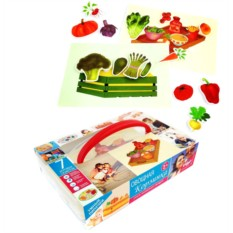 Пазл-липучка «Овощная корзинка»
