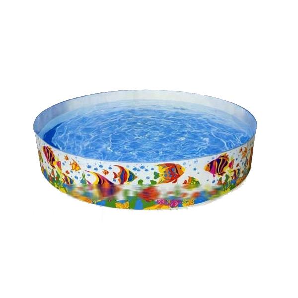 Надувной бассейн «Рыбки»