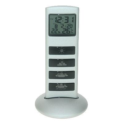 Часы-метеостанция с подсветкой
