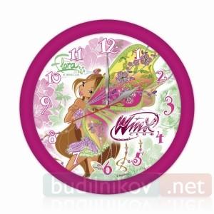 Детские настенные часы Winx Флора