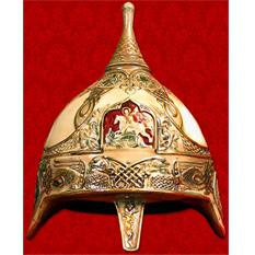 Штоф подарочный шлем «Иван Калита»