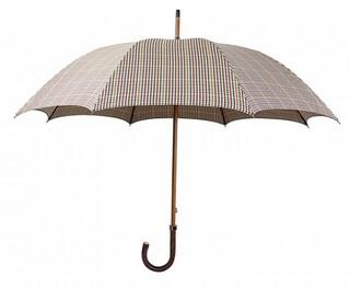 Зонт Mario Talarico в мелкую клетку