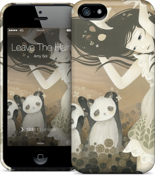 Чехол для iPhone 5/5s Gelaskins Leave The Hair And Go Free