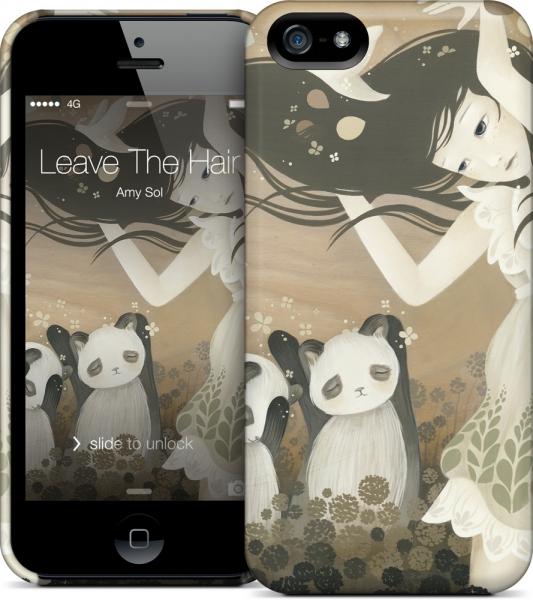 Чехол для iPhone 5/5s Gelaskins Leave The Hair And Go Free