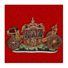 Подарочный штоф Карета - царский экипаж