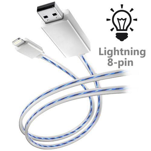 Светящийся кабель для зарядки Neo (Lightning)