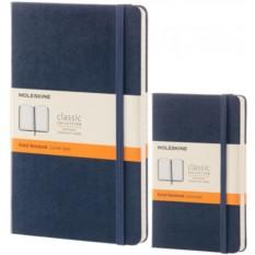 Синяя записная книжка Moleskine Classic в линейку