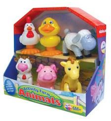 Развивающая игрушка Домашние животные