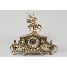 Часы Всадник (бронза)