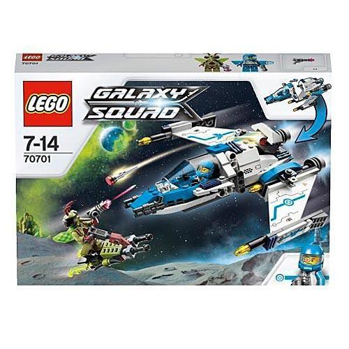 Конструктор LEGO Galaxy Squad Истребитель инсектоидов