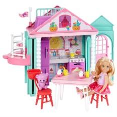 Кукольный домик Mattel Barbie Домик Челси