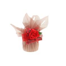 Подарочная упаковка Красная роза