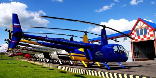 Полет на вертолете вокруг МКАД (за 40 минут)