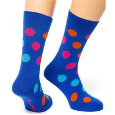 Синие носки Friday Dots