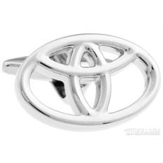 Запонки Toyota в именной коробке с гравировкой