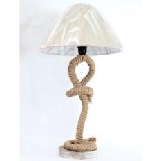 Настольная лампа «Морской канат»