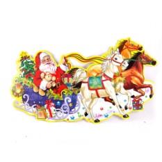 Новогоднее украшение Дед Мороз со снегурочкой