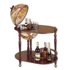 Глобус-бар на 3-х ножках со столиком Car