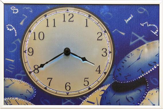 Часы с кристаллами Swarovski Пространство и время