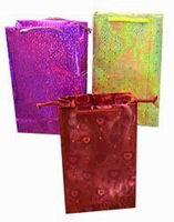 Подарочный пакет голографический