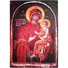 Икона Божьей Матери на доске Скоропослушница