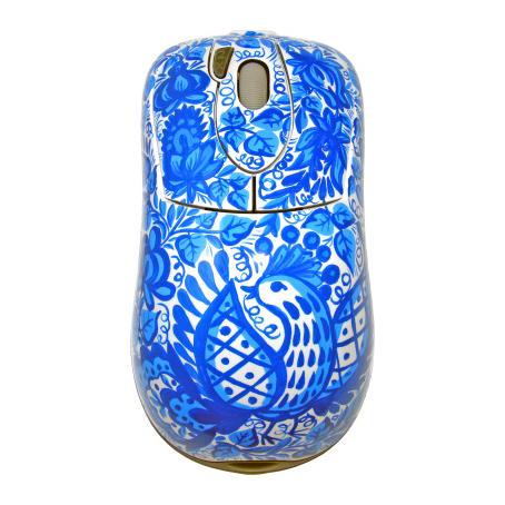 Компьютерная мышь «Гжель Голубка»