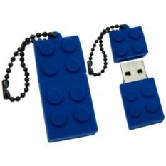 Флешка LEGO (цвет — синий)