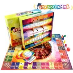 Настольная игра «Буквограмма» 3 в 1