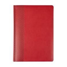 Красный недатированный ежедневник Brand