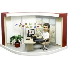 Подарок начальнику по фото День Рождения в офисе 25 см
