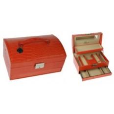 Красная шкатулка для ювелирных украшений CALVANI