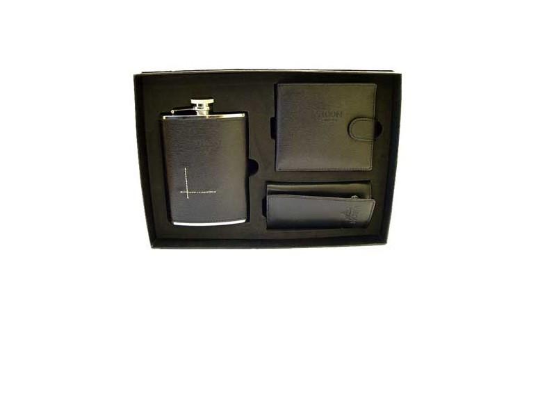 Подарочный набор VIRON (фляжка, ключница, кошелек)