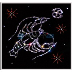Картина с кристаллами Swarovski Рак