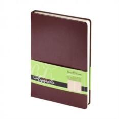 Недатированный коричневый ежедневник Megapolis A5