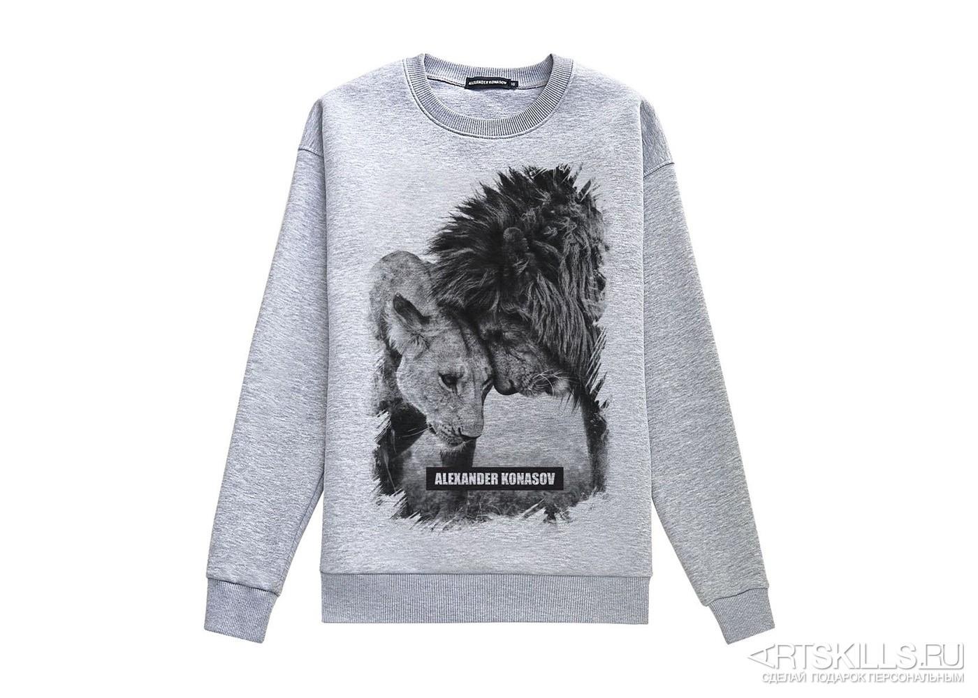 Толстовка «Львы»