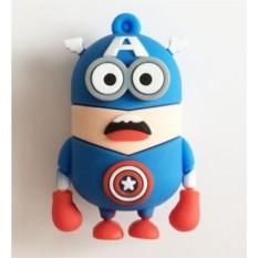 Флешка Миньон-Капитан Америка