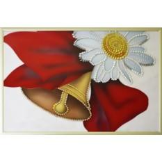Картина Swarovski Выпускной звонок, 679 кристаллов, 20х30