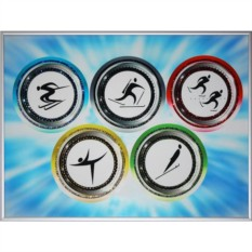 Картина Swarovski Олимпиада