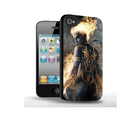 Панель для iPhone «Демоница»