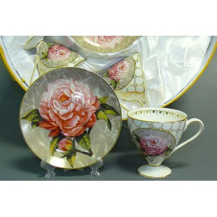 Чайный набор «Пионы»